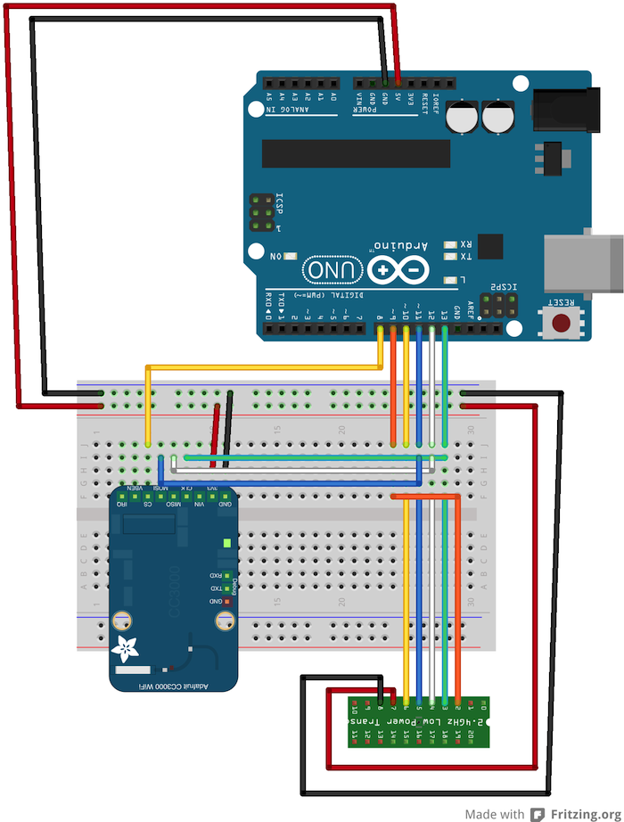 Getting Started with nRF24L01 on Arduino maniacbug