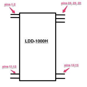 LDD-100HPinConnectors