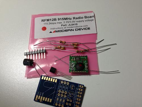 RFM12B Board Kit