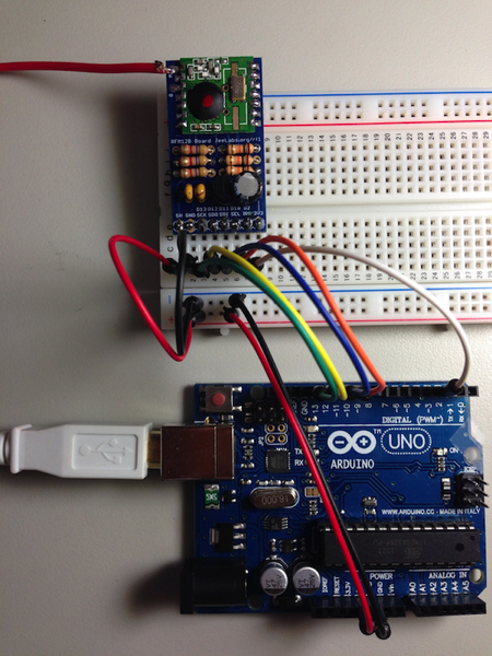Arduino And RFM12B