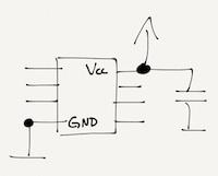 decouplingconnecttovcc
