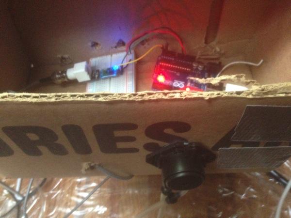 EZO Circuit in prototype