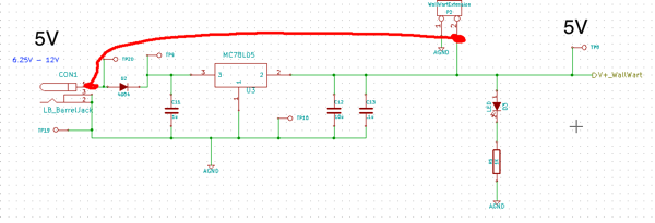 Skip Voltage Regulator