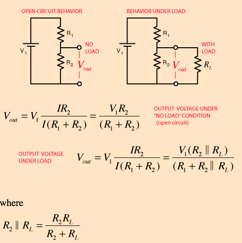 Voltage Divider With Load Explained