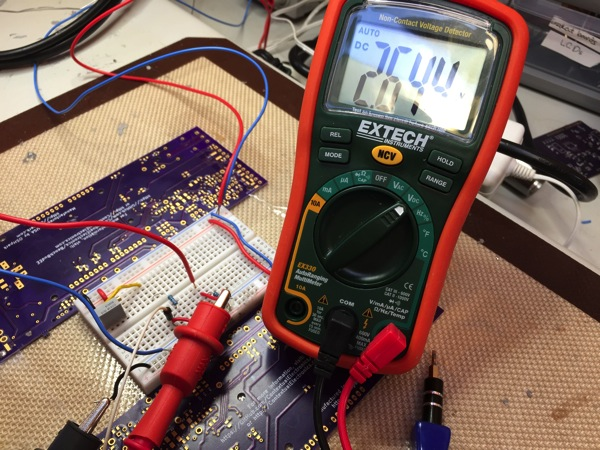 Breadboard Thermistor with DMM