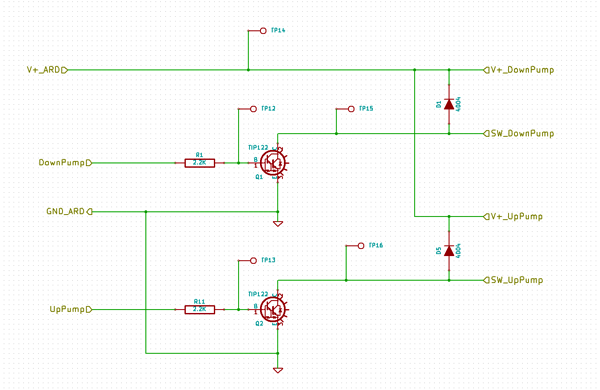 Pumps Schematic