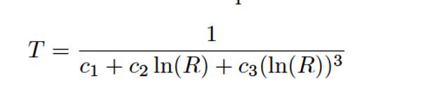 Steinhart-Hart Equation