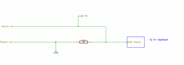 Thermistor Schematic