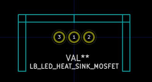 HeatSinkMosfetFootPrint