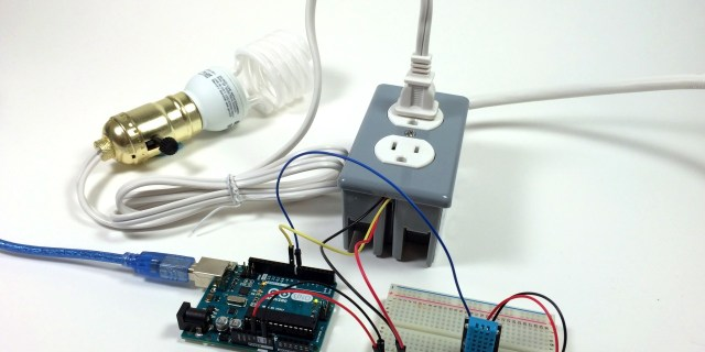 Build an Arduino Controlled Power Outlet 24